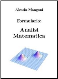 Cover Formulario di Analisi Matematica