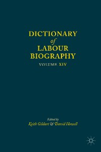 Cover Dictionary of Labour Biography