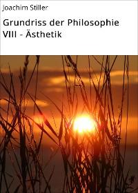 Cover Grundriss der Philosophie VIII - Ästhetik