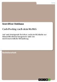 Cover Cash-Pooling nach dem MoMiG