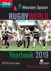 Cover Wooden Spoon Rugby World Yearbook 2019