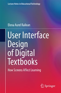Cover User Interface Design of Digital Textbooks