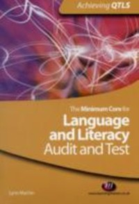 Cover Minimum Core for Language and Literacy