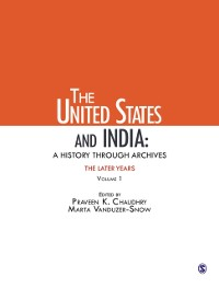 Cover United States and India: A History Through Archives