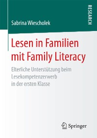 Cover Lesen in Familien mit Family Literacy