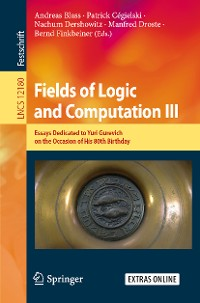 Cover Fields of Logic and Computation III