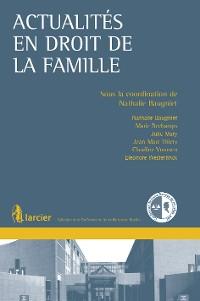 Cover Actualités en droit de la famille