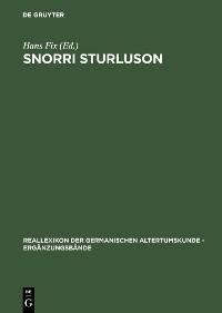 Cover Snorri Sturluson