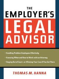 Cover The Employer's Legal Advisor