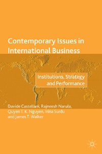 Cover Contemporary Issues in International Business