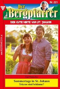 Cover Der Bergpfarrer 221 – Heimatroman
