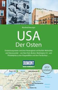 Cover DuMont Reise-Handbuch Reiseführer USA, Der Osten