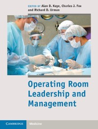 Cover Operating Room Leadership and Management