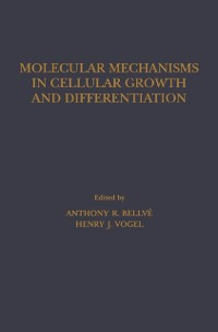 Cover Molecular Mechanisms In Cellular Growth and Differentiation
