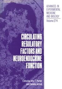 Cover Circulating Regulatory Factors and Neuroendocrine Function