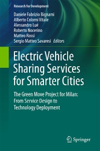 Cover Electric Vehicle Sharing Services for Smarter Cities