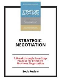 Cover Strategic Negotiation