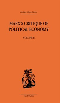 Cover Marx's Critique of Political Economy Volume Two