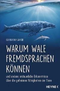 Cover Warum Wale Fremdsprachen können