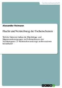 Cover Flucht und Vertreibung der Tschetschenen