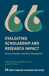 Cover Evaluating Scholarship and Research Impact