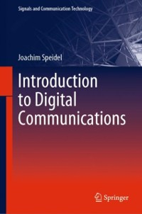Cover Introduction to Digital Communications