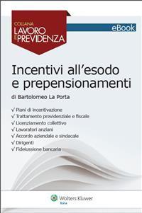 Cover Incentivi all'esodo e prepensionamenti