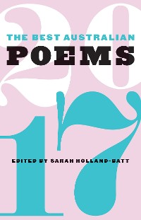 Cover The Best Australian Poems 2017