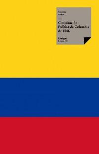 Cover Constitución Política de Colombia de 1886