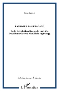 Cover Passager sans bagage