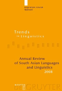 Cover Annual Review of South Asian Languages and Linguistics