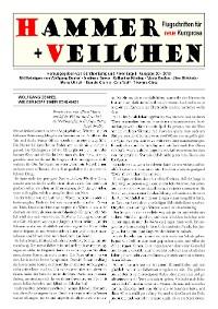 Cover Hammer + Veilchen Nr. 20