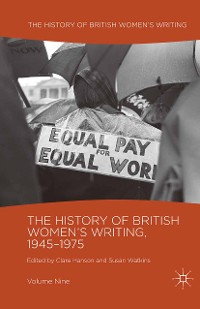 Cover The History of British Women's Writing, 1945-1975