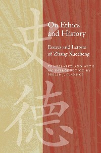 Cover On Ethics and History