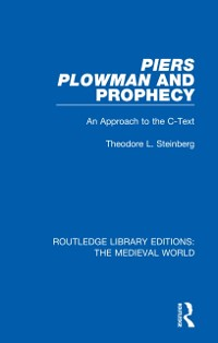 Cover Piers Plowman and Prophecy