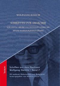 Cover Schriften zur Anarchie