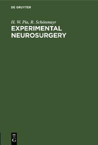 Cover Experimental Neurosurgery
