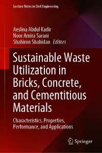 Cover Sustainable Waste Utilization in Bricks, Concrete, and Cementitious Materials