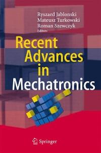 Cover Recent Advances in Mechatronics