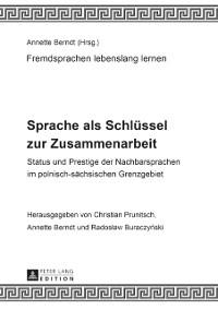 Cover Sprache als Schluessel zur Zusammenarbeit