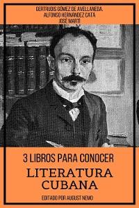 Cover 3 Libros para Conocer Literatura Cubana