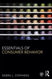 Cover Essentials of Consumer Behavior