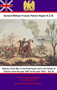 Cover History Of The War In The Peninsular And In The South Of France, From The Year 1807 To The Year 1814 - Vol. III