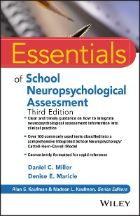 Cover Essentials of School Neuropsychological Assessment