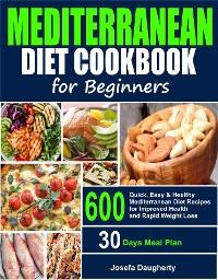 Cover Mediterranean Diet Cookbook for Beginners