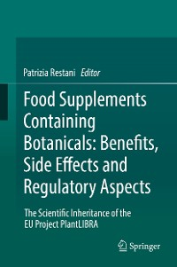 Cover Food Supplements Containing Botanicals: Benefits, Side Effects and Regulatory Aspects