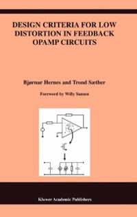 Cover Design Criteria for Low Distortion in Feedback Opamp Circuits