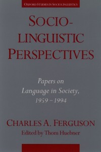 Cover Sociolinguistic Perspectives
