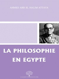 Cover La Philosophie en Égypte