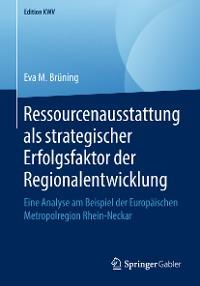 Cover Ressourcenausstattung als strategischer Erfolgsfaktor der Regionalentwicklung
